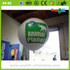 wholesale mini helium balloon advertising inflatable helium balloon