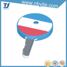 Hot selling useful personalized pvc key cover
