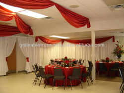 wedding wall drapery and pipe set