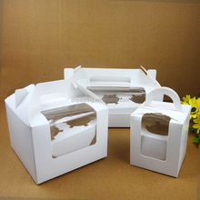 FSC hot sale Cupcake/cake Boxes with window