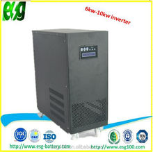 Dc to ac UPS inverter 10KW pure sine wave solar inverter