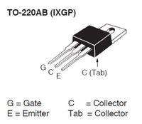SMP237386 IXYS IXGP16N60C2 for PFC Circuits 16A 600V IGBT Transistor