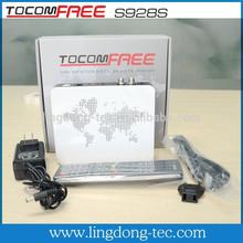 Receptor de satélite tv android tocomfree s928s iks sks livre para a américa do sul localizador de satélite sintonizador duplo iks