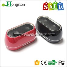 2015 Top Quality UV Surface FM Function Portable Speaker bluetooth connection