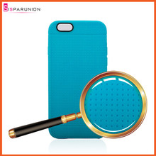 High Quality TPU Case for iPhone 6 with Honeycomb Pattern