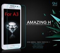 Mobile phone for Samsung galaxy S3 S4 S5 A3 A5 A7 tempered film screen protector China wholesale