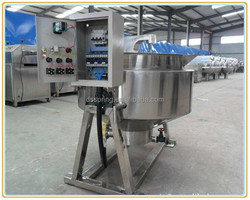 Jacketed cooker for donkey meat//jacket cooker for mutton//jacketed cooker for beef