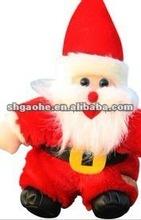 2012 Resin christmas long beard santa claus