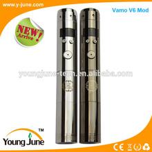 Fashion and hot selling mechanical vamo v6 mod ego vapor vamo v6 mod
