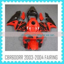 For HONDA CBR600RR 2003-2004 RED&BLACK motorcycle fairings