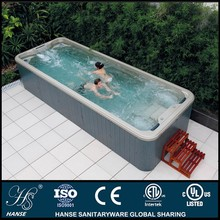 HS-S06B rectangular with surfing system 5.8m length swimming pool