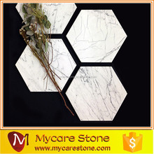 Marble Stone Hexagonal Drink Coaster