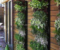 2015 The best choice artificial leaf wall , wall plant
