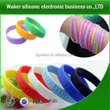 promotion item men bracelet & bangles/silicone bands with high quality/cheap item to sell silicone wristband