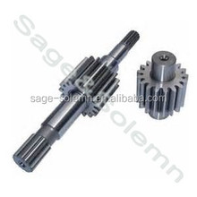 Popular Promotional Big Spur Gear Shaft / China OEM Custom Big Gear Shaft