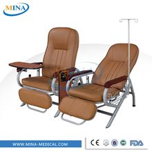 MINA-S4 CE ISO high quality clinic infusion chair with dinning table