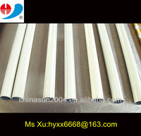 white powder coater aluminium curtain track