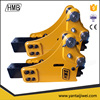 building renovation ISO9001/CE/UL high quality korean Soosan side type earth moving machine, percussion hammers