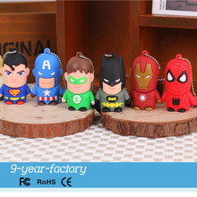 Top quality funny cartoon usb flash memory