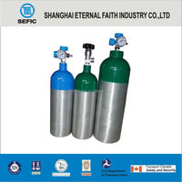 Newly Designed 2014 Aluminum Gas Cylinders Wrapped Carbon Fiber Composite Gas Cylinder