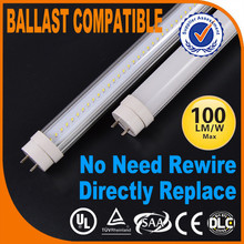 New arrival Rohs Canada ballast compatible 1200mm t8 9w led rad tube smd2835