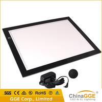 DC12V acrylic panel animation LED magic writing board / LED drawing light pads