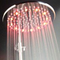 2013 luxury romantic RGB color change top shower led