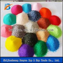 Fine grain colorful sand