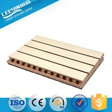 Decorative Interior Acoustic Wood Wall Panel For Meeting Room