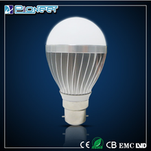 3w 5w 7w 9w led light bulb 5w high lumens aluminium bulb zhong shan sales led bulb lighting