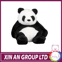 ENT80/ASTM/SEDEX red eyes plush panda toy