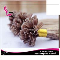 "20"" Indian Human Hair ,U-Tip ,pre-bonded remy human hair extension"