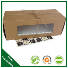 cupcake wedding favors,wholesale box cupcake,brown cupcake boxes