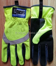 Best selling custom racing motorcycle driving gloves for truck and traffic safety