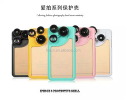 For iPhone 6 case camera lens phone case for iPhone 6