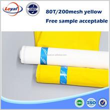 Free Printing screen mesh polyester monofilament