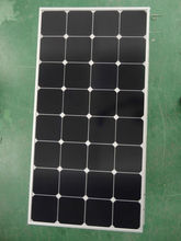 100W Energy-efficient Semi Flexible Solar Panel for Golf cars(CE/TUV/ISO approved)