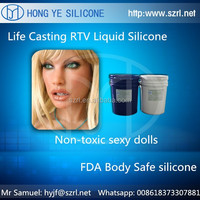 RTV addition cure silicone to make artificial pussy flexible toys