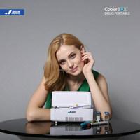 JYK-X1 portable cooler box, 24hours diabetic insulin pen cooler, AC/DC/Li-battery4000mAh+12000mAh