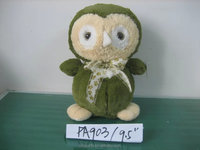 Cute plush stuffed toy love birds stuffed plush toy bird owl