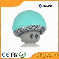 Bluetooth Speaker Mini Wireless Bluetooth Speaker Cartoon Mushroom Head with Sucking Disk Bracket Hight Quality Amplified Sound