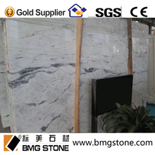 white Cloud marble stone slab for floor tile,vanity top,counter top