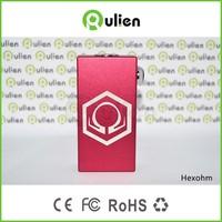 high quality hexohm v2 110w box mod 1:1 clone hexohm box vape mod/ dx 80 box mod/cherry bomber box mod wholesale