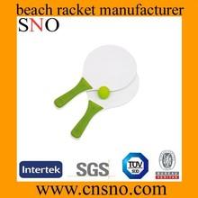 China 2015 best selling Fancy design wooden beach tennis racket
