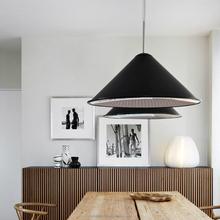 Modern Black Metal Pendant Lamps Popular decoration indoor lamps for dinning room PLP8036-L