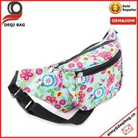 Custom Flower Design Hip Bag Fashion Waist Bag