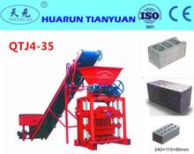 Small type low cost QTJ4-35B2 Brick Making Machine and Equipments / manual operated block making machine