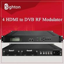 tv streaming 1080P hd 4 hdmi encoder video modulator mpeg4