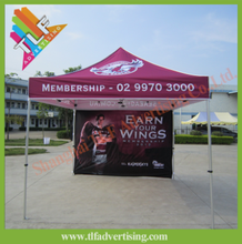 Folding Frame Polyester Canopy Tent