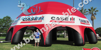 8 legs advertising inflatable spider event tent